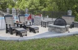 pine creek structures poly utdoor patio furniture in Martinsburg, WV